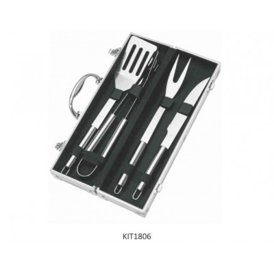 Kit talheres p/ churrasco - KIT1806